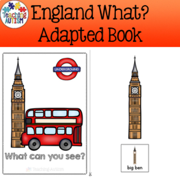 England, What Can You See, Adapted Book