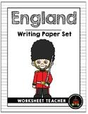 England Writing Paper Set