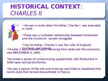 England's Restoration Era