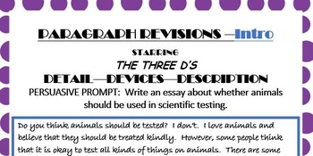 English 10 STAAR EOC Persuasive Essay Activity and Prompt Packet-PDF