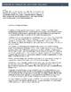 English 10 Syllabus (Editable)