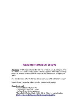 English 101--College Writing
