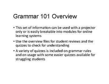 English 101 Curriculum for High School Dual Enrollment or College