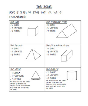 English 3D Shapes and Buildable Geometry Set