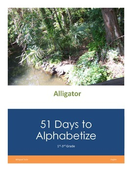 English 51 Days to Alphabetize
