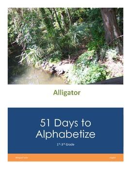 English 51 Days to Alphabetize