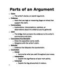 English 9-12 Binder Reference Materials