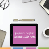 English 9 Lesson Plans: One Year of Lesson Plans