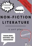 English 9 Non-fiction Unit Plan