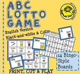 English ABC Lotto Game