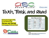 English ABC Sound Clues Touch, Track and Read