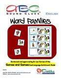English ABC Sound Clues Word Families