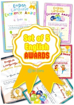 English AWARDS
