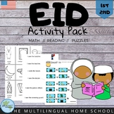 English Activity Book for Eid - Grade 1 & 2