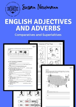 English Adjectives and Adverbs - Comparatives and Superlatives