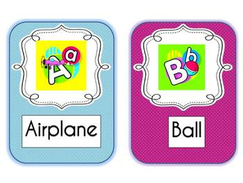 English Alphabet Cards