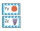 English Alphabet Cards, dual language