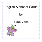 English Alphabet Display/flash cards