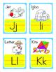 English Alphabet Flash Cards