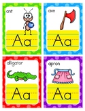English Alphabet Flash Cards