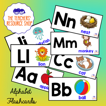 English Alphabet Flashcards