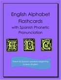 English Alphabet Flashcards for Spanish Speakers