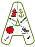 English Alphabet Letter Puzzle