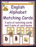 English Alphabet Matching Cards