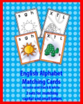 English Alphabet Matching Games