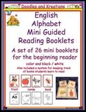 English Alphabet Mini Guided Reading Books