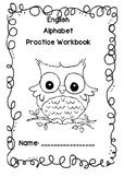 English Alphabet Practice Workbook
