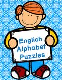 English Alphabet Puzzles