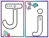 English Alphabet Write and Wipe Mats