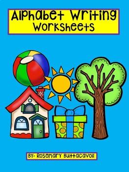 English Alphabet Writing Worksheets