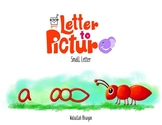 English Alphabet to Picture Series - Small Letters