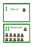 English Animal number line(1-20).Also selling a Spanish version in another post.