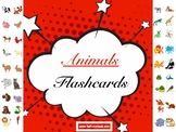 English Animals Flashcards