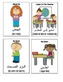 English - Arabic Language Flashcards - Teacher