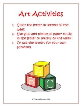 English Art Activity