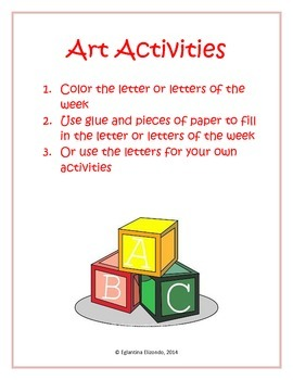 English Art Activity
