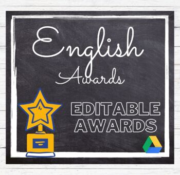 English Awards