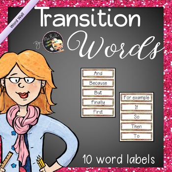 Transition words (A1 Level)