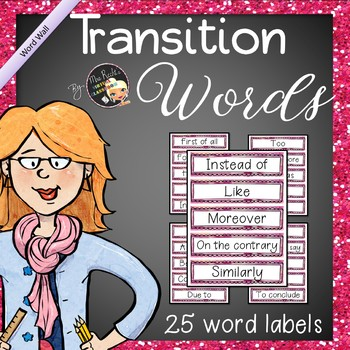 English Bell Ringers - Transition words (A2 Level)