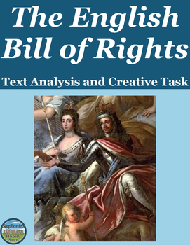 English Bill of Rights Analysis and Creative Task