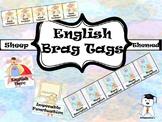 Brag Tags - Awesome English Brag Tags - Sheep Themed #BTS2019