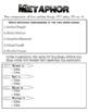 English Cheat Sheet Doodle Notes -Metaphor