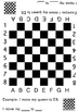 English Chess Board and Instructions