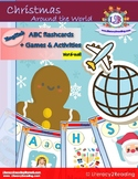 English Christmas Around the World - ABC Flashcards - biliteracy center ideas