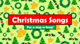 English (ESL) - Christmas Carols - Lyrics & Instrumental Tracks