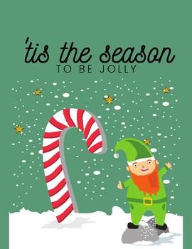 English Christmas Posters